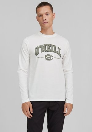 TEES SURF STATE LS - Long sleeved top - powder white