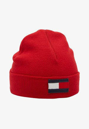 BIG FLAG BEANIE - Pipo - red