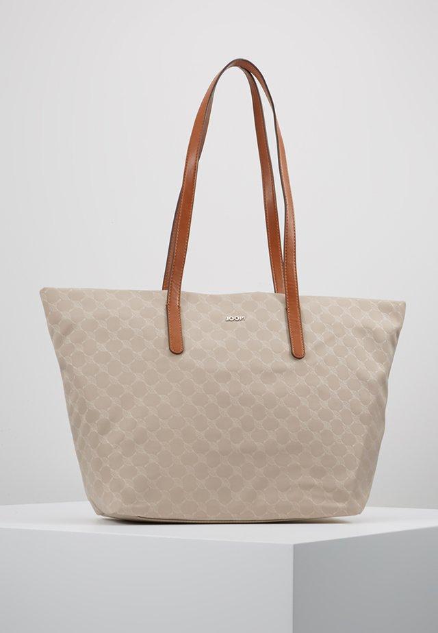 HELENA - Shopping bag - beige