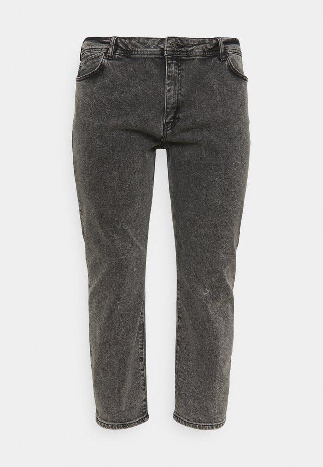 NMOLIVIA - Jeans a sigaretta - dark grey denim