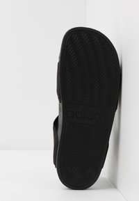 adidas Performance - ADILETTE - Sandales de bain - core black/footwear white - 5