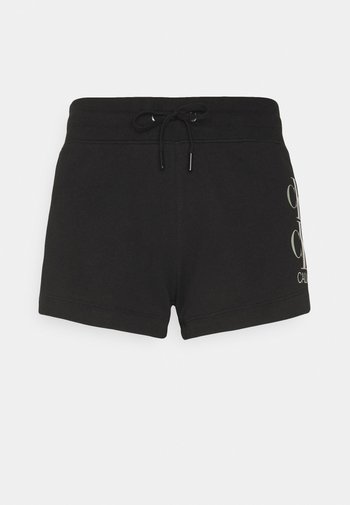 SHINE LOGO SHORT - Shorts - black
