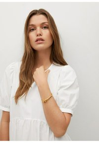Mango - MED VOLANG - Day dress - offwhite - 3