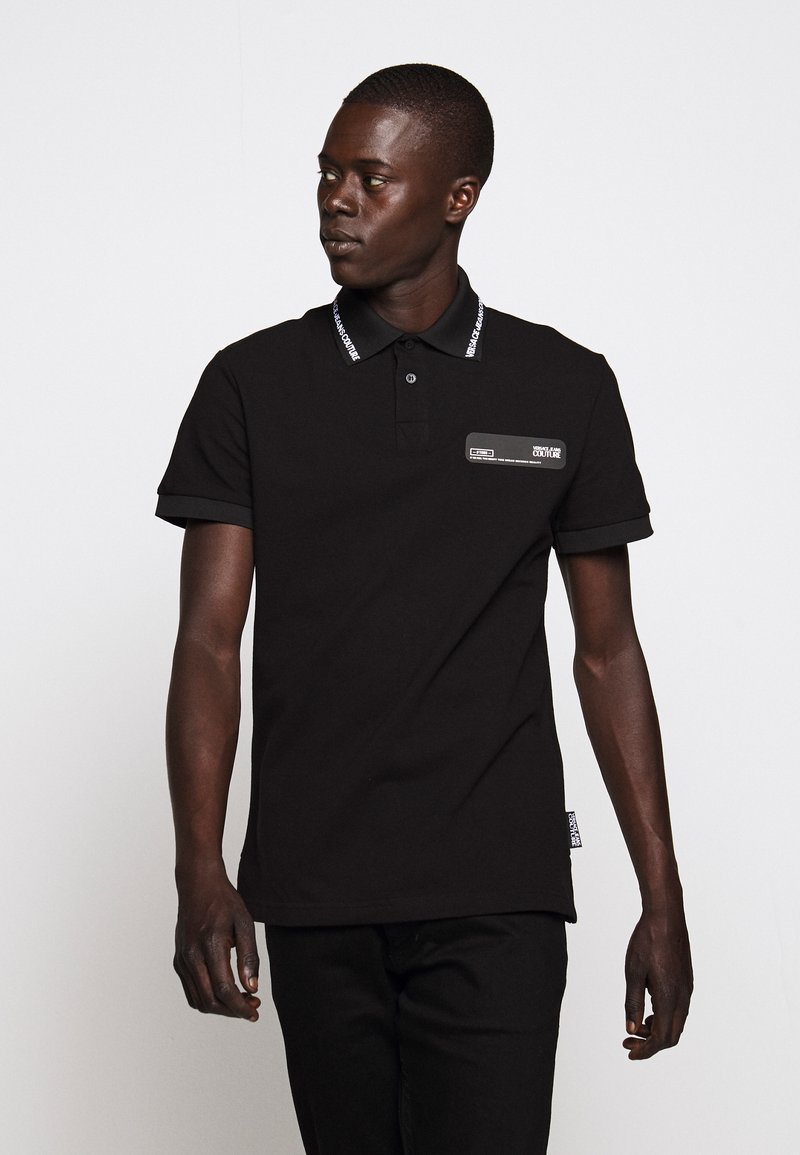 Versace Jeans Couture - PATCH - Poloshirt - black