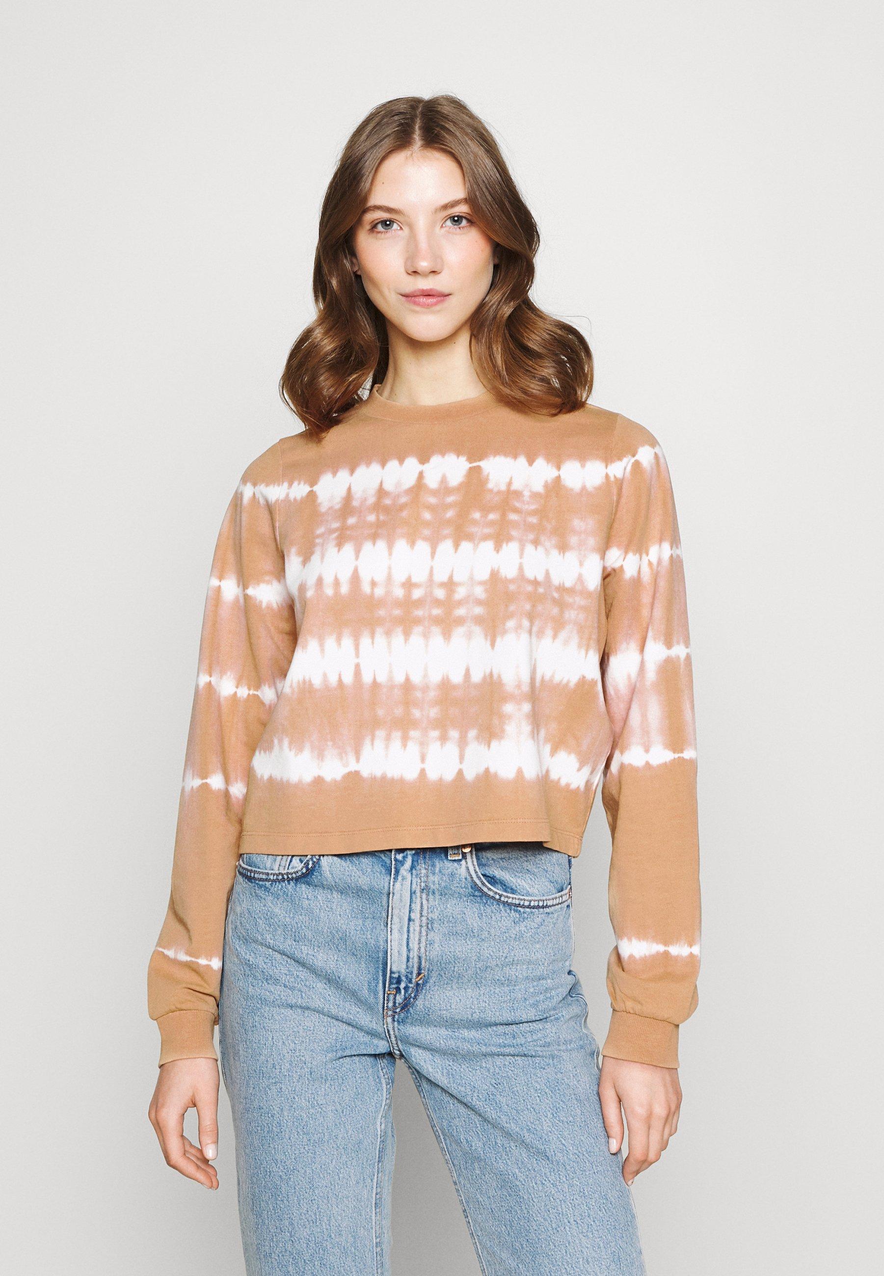 Women NMJOAN TIE DYE - Sweatshirt
