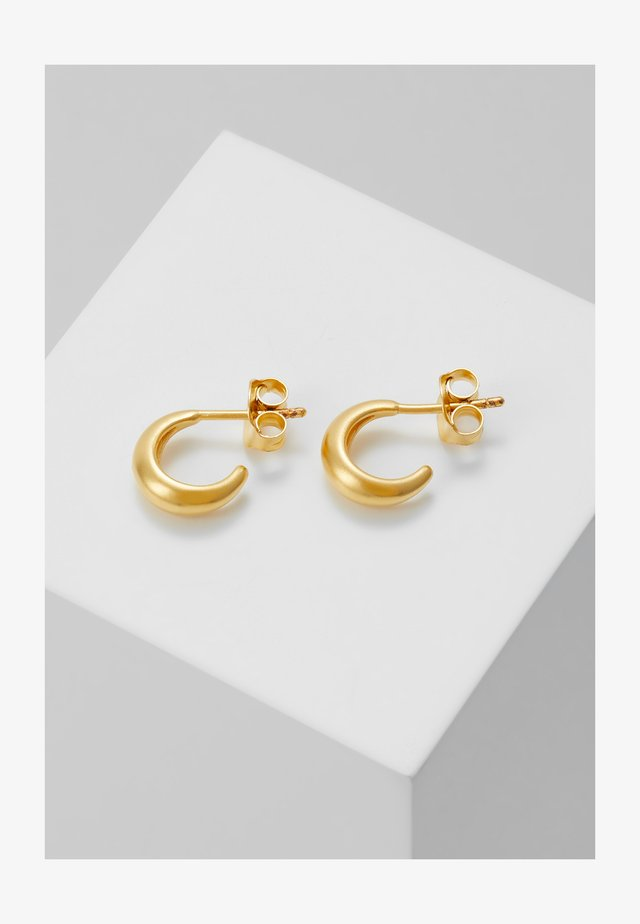 SPARROW MINI HOOPS - Pendientes - gold-coloured