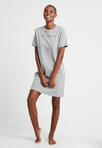 Tommy Hilfiger - ORIGINAL DRESS HALF SLEEVE - Nightie - grey heather - 1
