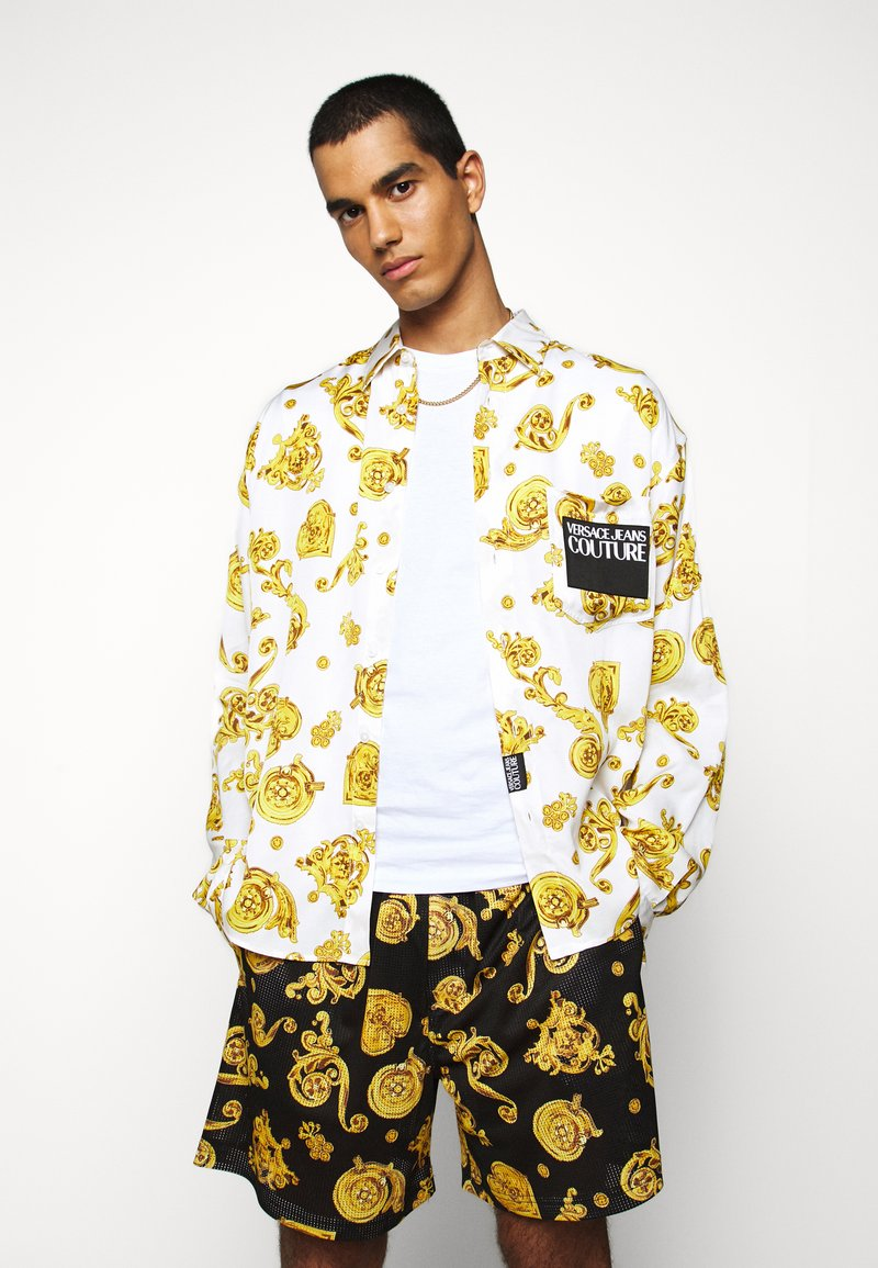 Versace Jeans Couture - PRINT  - Shirt - white