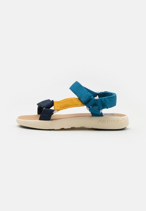 NAUHA UNISEX - Walking sandals - nautic/navy