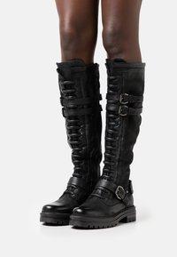 MJUS - Bottes à lacets - nero - 0
