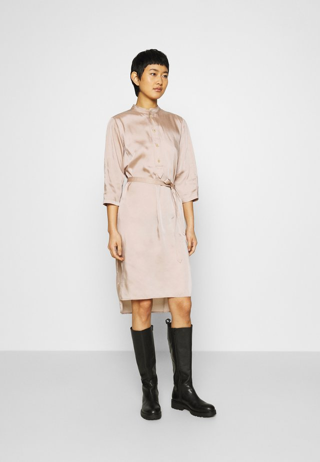 FLEX DRESS - Shirt dress - dusty pink
