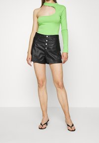 Missguided - DENIMEXPOSED  - Shorts - black - 0