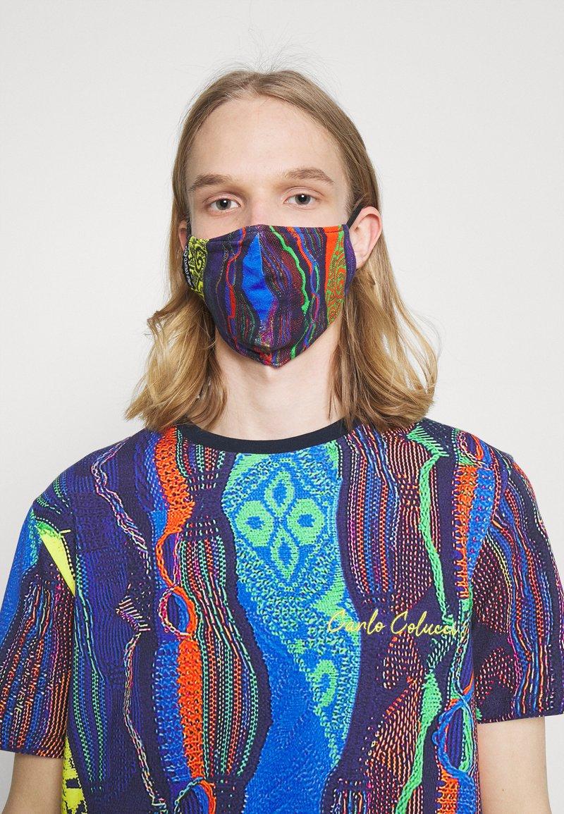 Carlo Colucci - MULTIPACK SET - Print T-shirt - navy