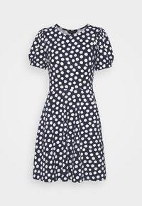 Dorothy Perkins - SPOT TSHIRT DRESS - Sukienka z dżerseju - navy - 4