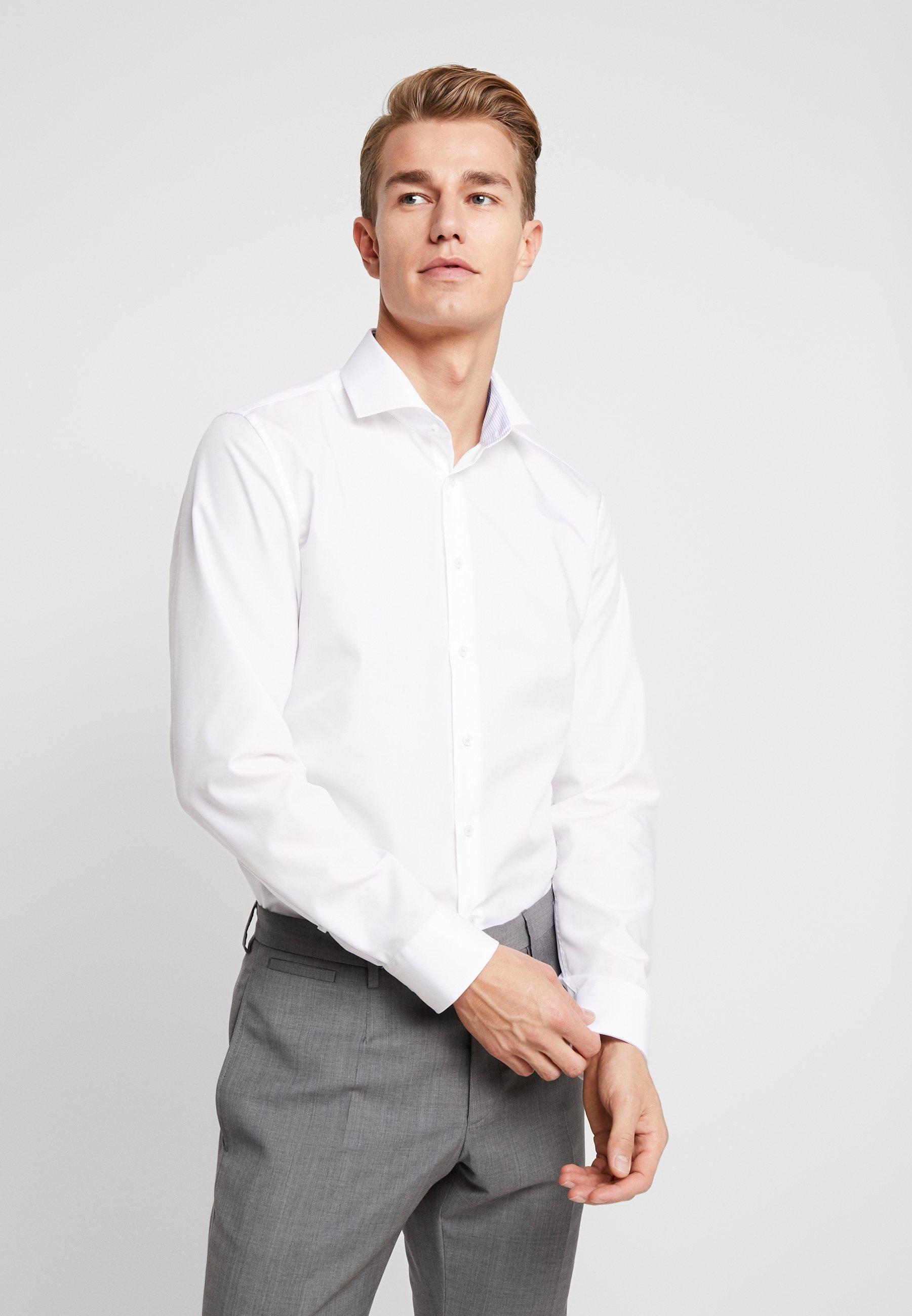 Herren SLIM FIT SPREAD KENT PATCH - Businesshemd