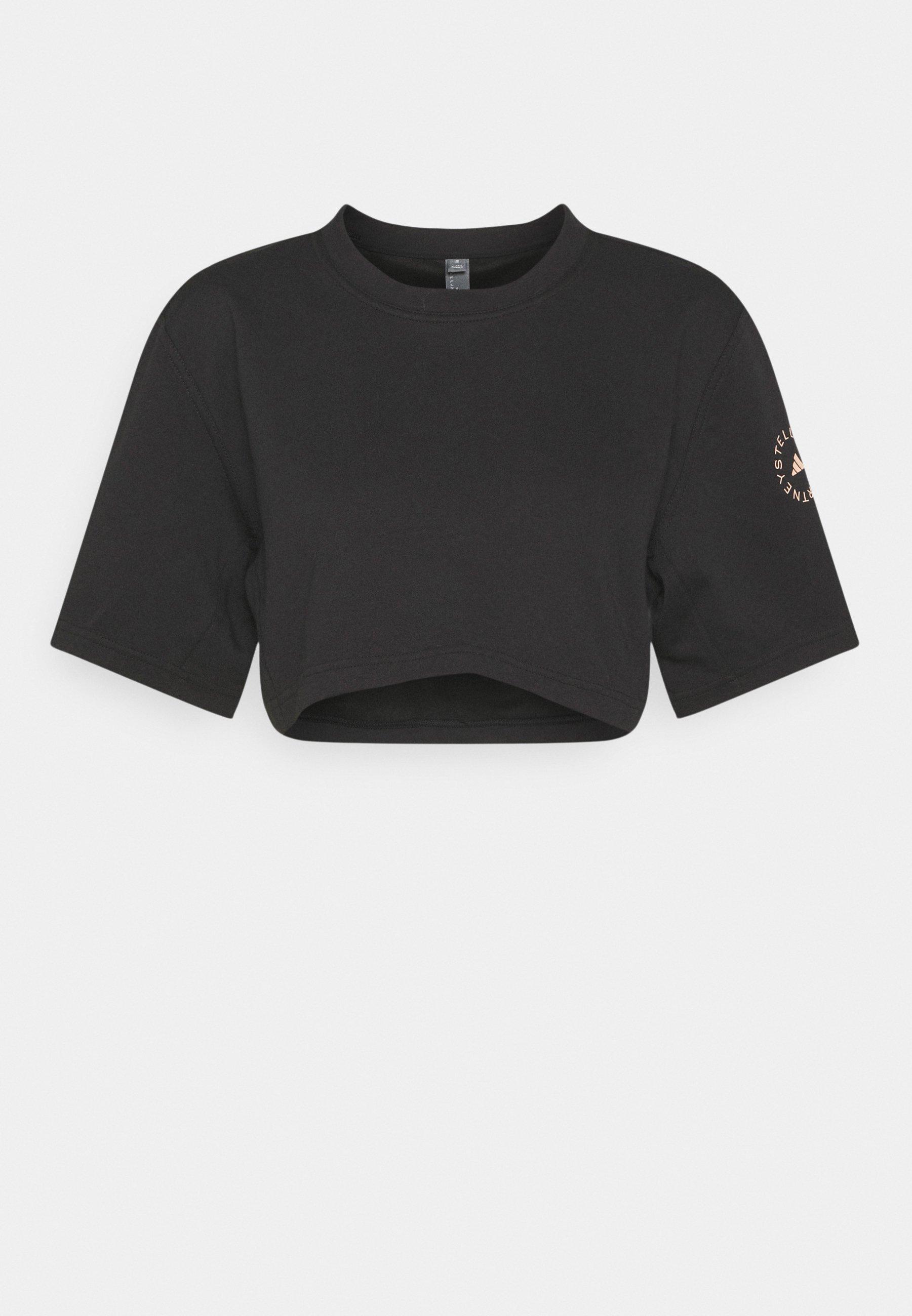 Damer CROP TEE - T-shirts print
