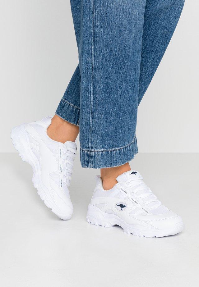 KW-CHUNKY - Sneakersy niskie - white