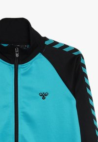 Hummel - HMLKICK - Training jacket - black/lake blue - 3