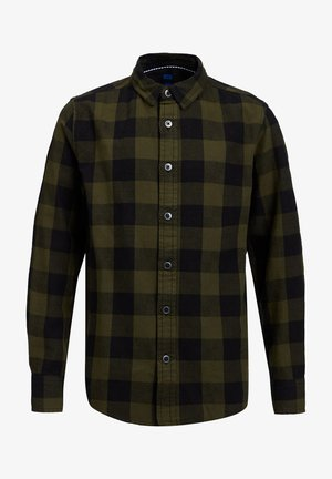 FLANELLEN - Shirt - green