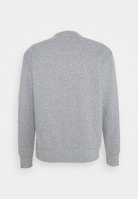 Nike SB - CREW - Bluza - dark grey heather/white - 1