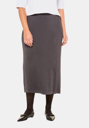 Pencil skirt - graphit