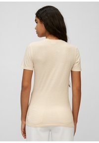 Marc O'Polo DENIM - Print T-shirt - multi/island beige - 2