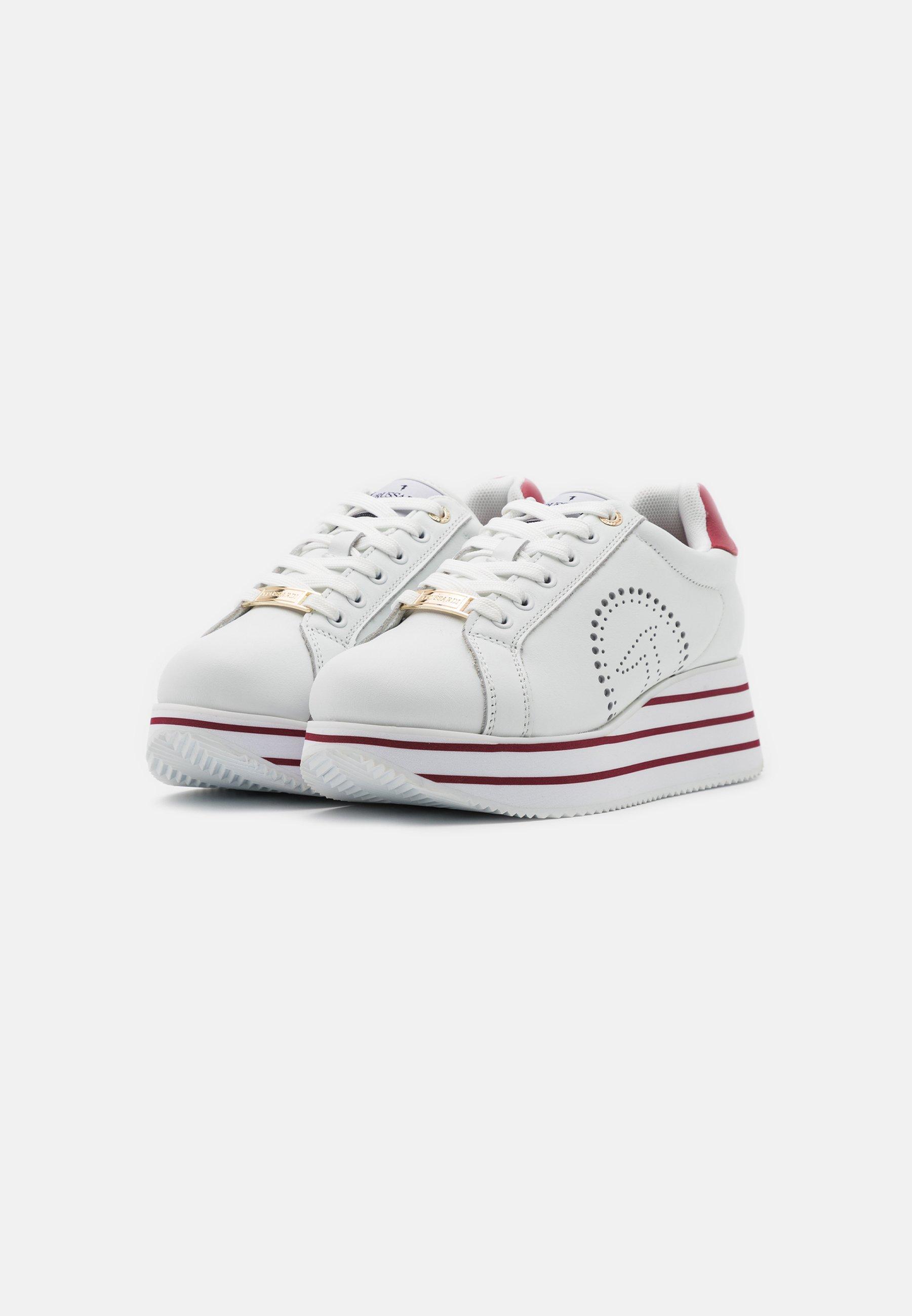 Zakup Zniżka Trussardi ERIKA  - Sneakersy niskie - white/bouganville   Obuwie damskie 2020 ful9W