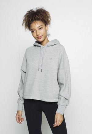ESSENTIALS HOODY - Sweatshirt - mid grey marl