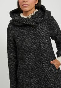Vila - Classic coat - medium grey melange - 4
