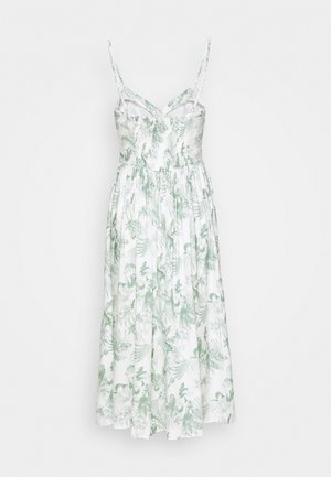 BUTTON DRESS - Day dress - antique white