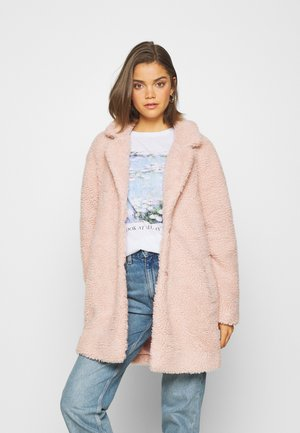 Manteau court - rose smoke