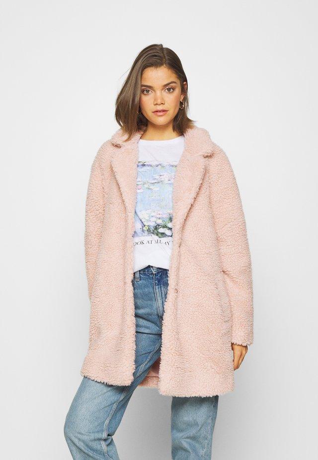 Krótki płaszcz - rose smoke