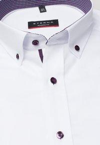 Eterna - FITTED WAIST - Shirt - white - 4