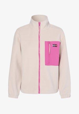 Fleece jacket - sand pink