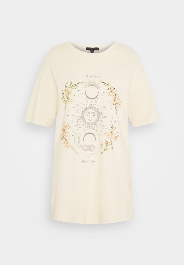 CREAM MYSTIC ACID TEE - T-Shirt print - cream