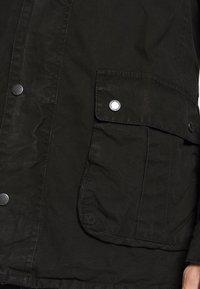 Barbour International - COLOURED DUKE CASUAL - Summer jacket - black - 4