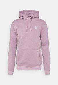 SIKSILK - BASIC OVERHEAD HOODIE UNISEX - Sweatshirt - purple - 3