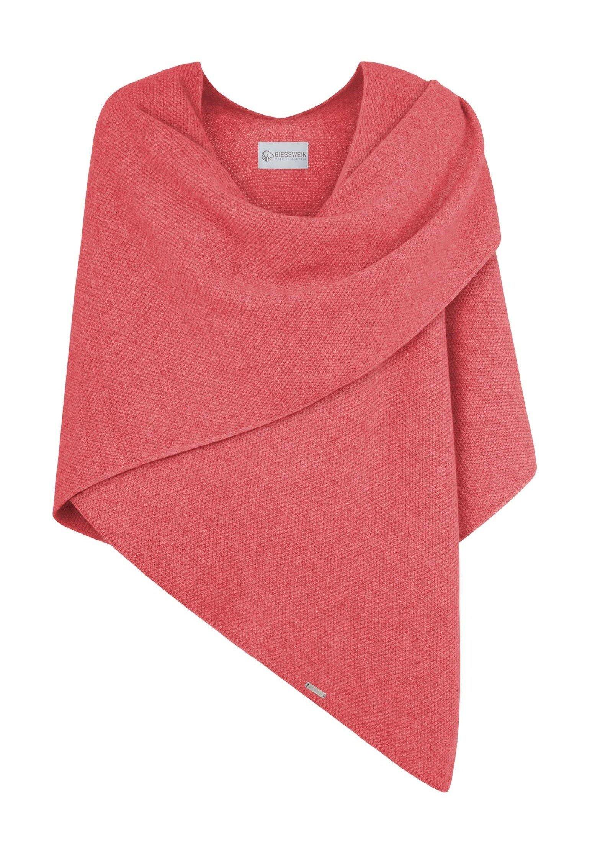 Giesswein CASHMERE-WOOL-PONCHO - Cape - corail | Damenbekleidung billig