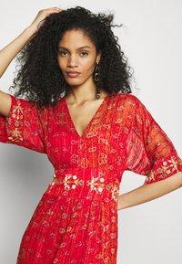 Desigual - PORTLAND - Długa sukienka - red - 3