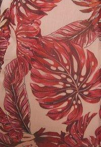 Vila - VIAMARYLLIS ANKLE DRESS - Maxi dress - misty rose/mars red - 2