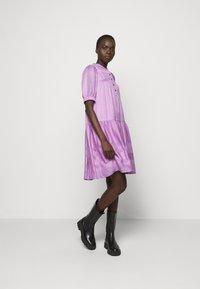 CECILIE copenhagen - LOLITA - Shirt dress - violette - 1