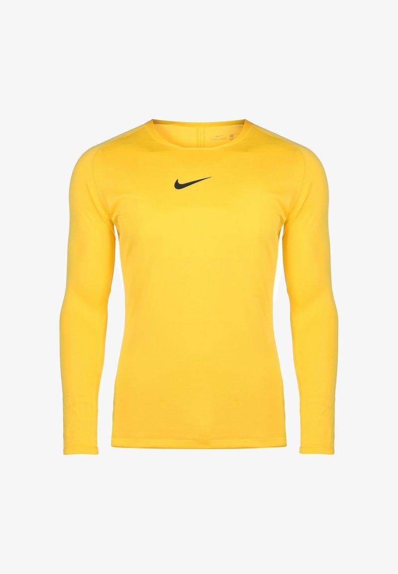 Nike Performance - Sports shirt - tour yellow / black