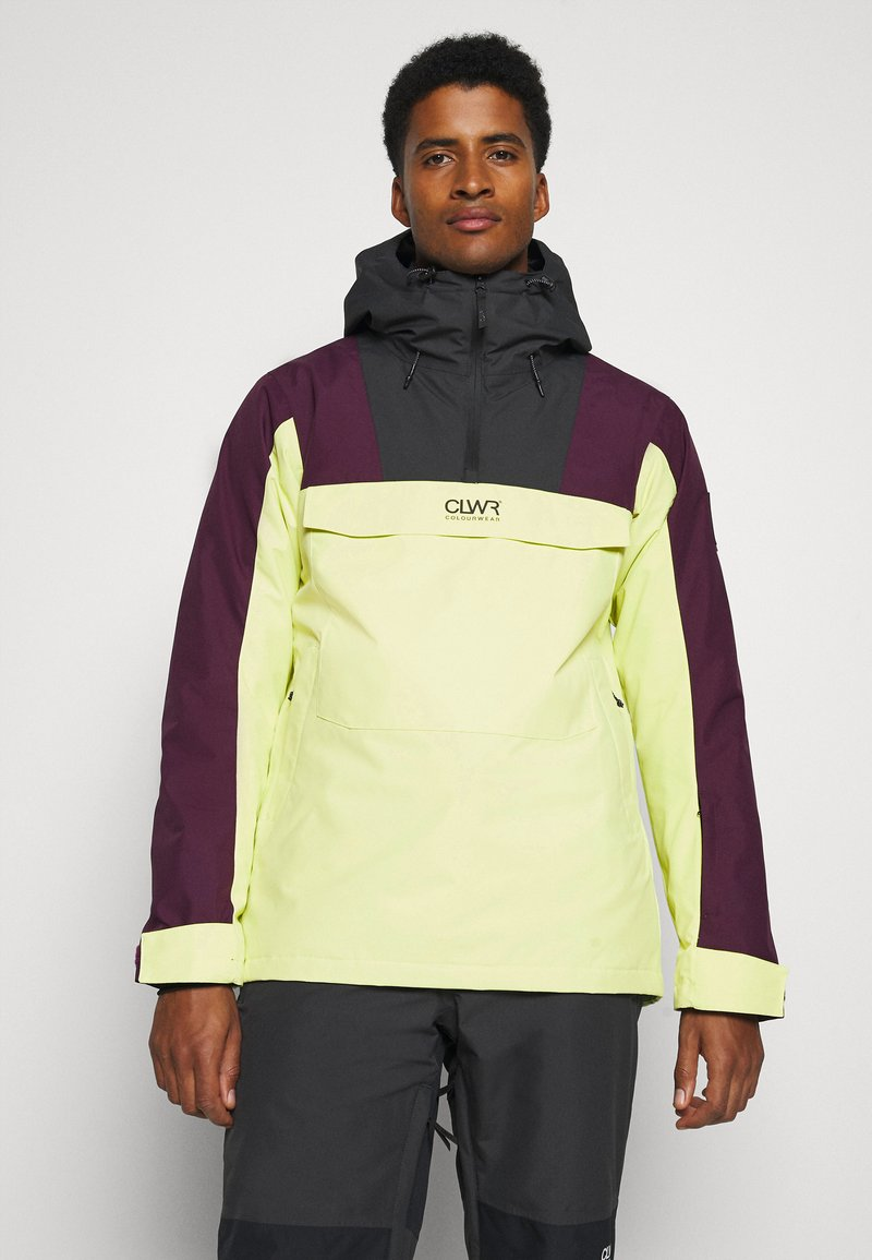 COLOURWEAR - ANORAK - Snowboard jacket - yellow