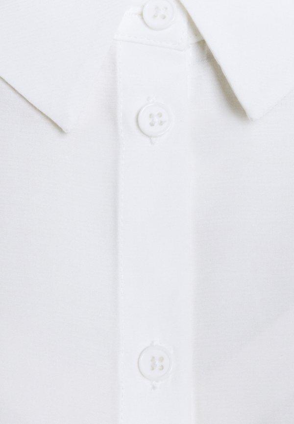Anna Field Basic Blouse with pocket - Koszula - off-white/mleczny CRFP
