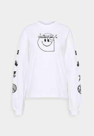 TAB - Long sleeved top - white/black