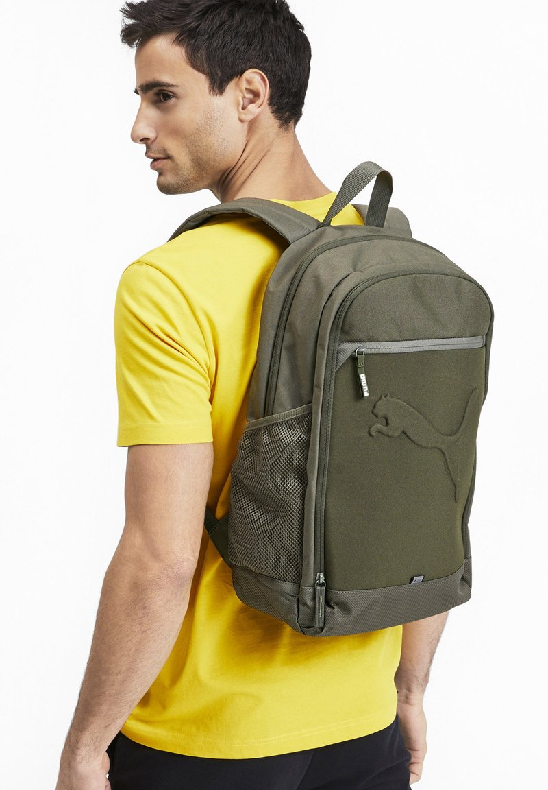 Puma - BUZZ UNISEX - Backpack - forest night