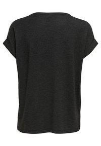 ONLY - ONLMOSTER ONECK - T-shirts - dark grey melange - 6