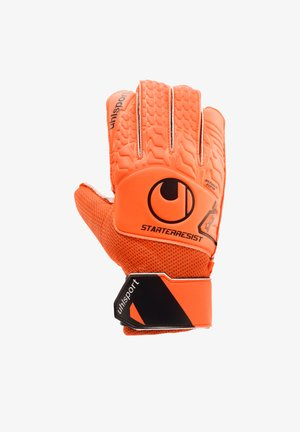 Goalkeeping gloves - orangeschwarz