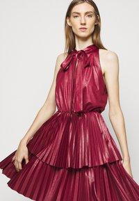 Pinko - ANTONIO DRESS - Cocktail dress / Party dress - red - 3