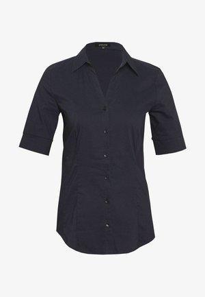 Button-down blouse - pleasure blue